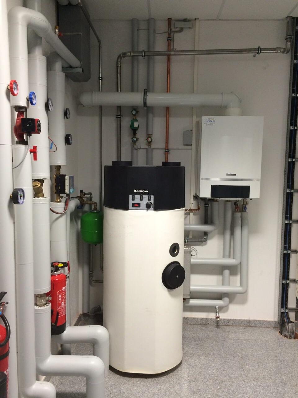 Trinkwassererwärmung durch eine Luftwärmepumpe