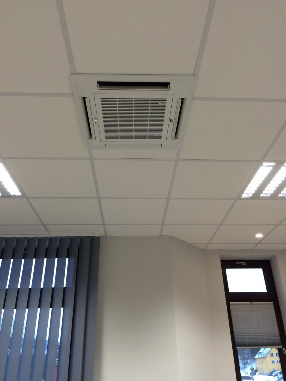 Kühlung eines Bürogebäudes