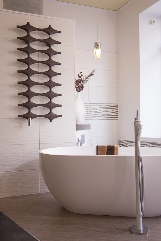moderner Badheizkörper