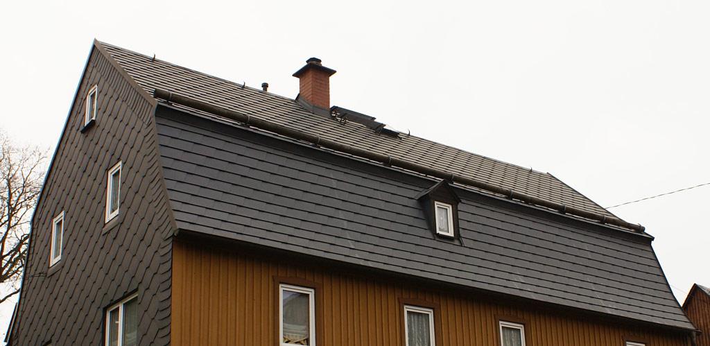 Verlegung von Prefa-Aluminium-Dachschindeln
