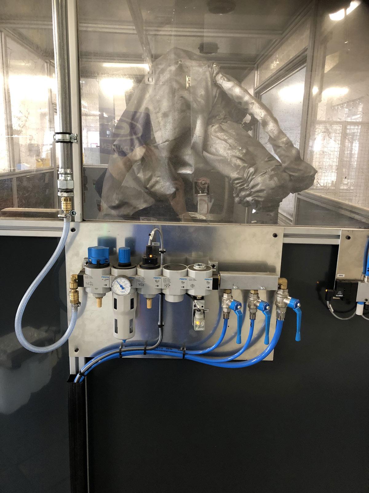 Anschluss von Druckluftverteilsystemen