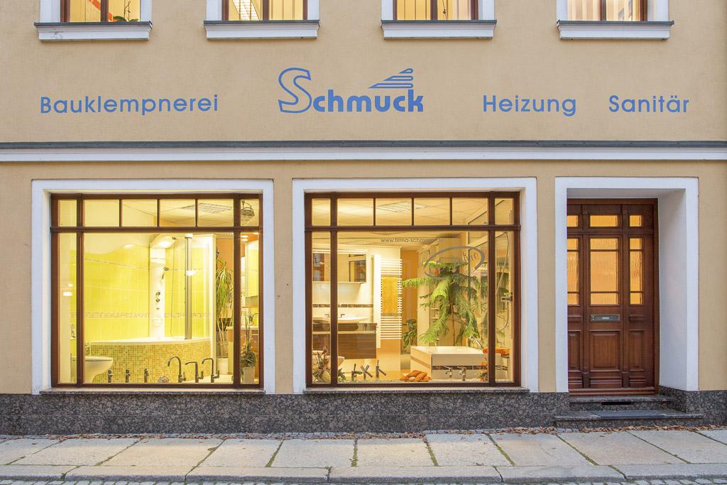 Firmengebäude und Badausstellung Johannisstraße 7