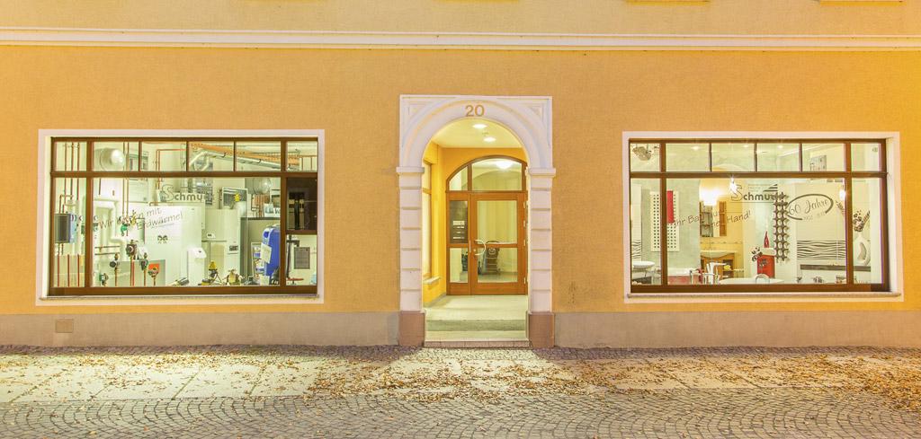 Bad- und Heizungsausstellung Johannisstraße 20